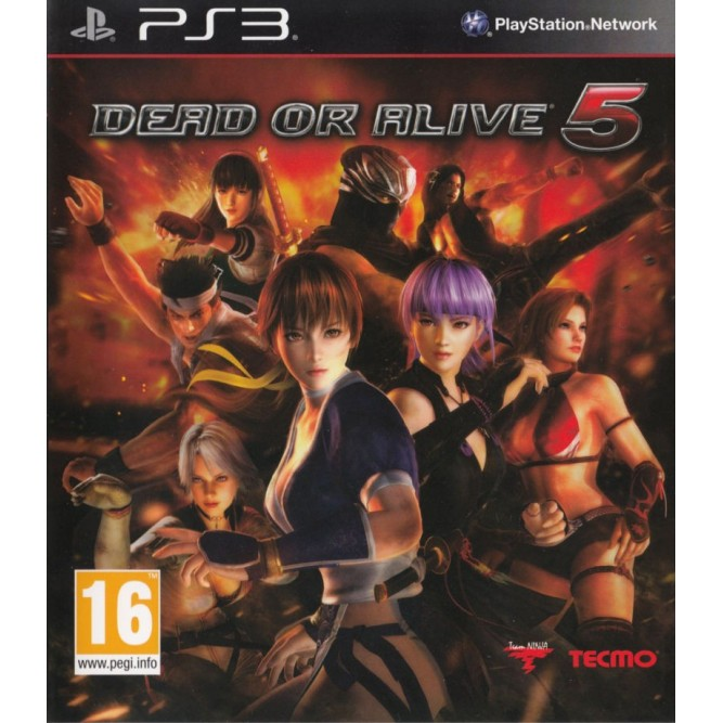 Игра Dead or Alive 5 (PS3) б/у