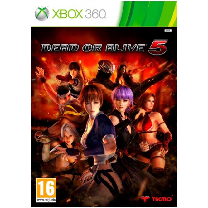 Игра Dead or Alive 5 (Xbox 360) (eng) б/у