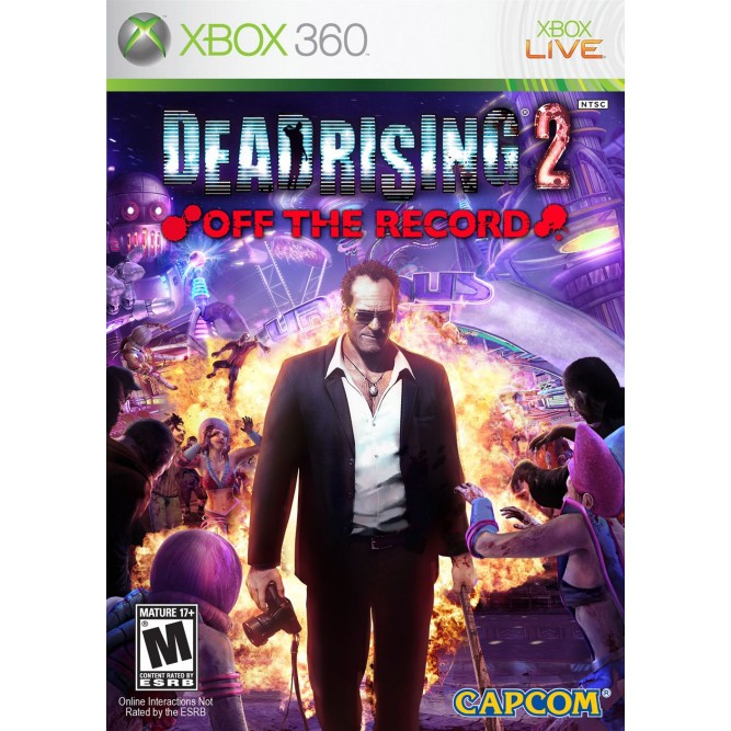 Игра Dead Rising 2: Off the Record (Xbox 360) б/у