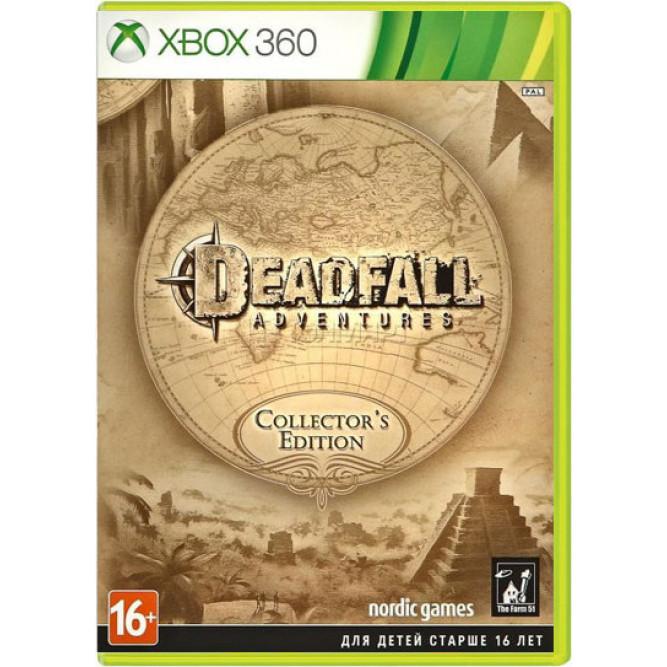 Игра Deadfall Adventures (Collector's Edition) (Xbox 360) (rus sub) б/у
