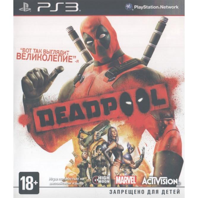 Игра Deadpool (PS3) б/у (rus)