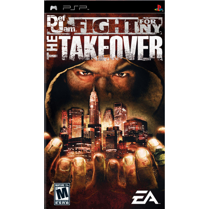 Игра Def Jam: Fight for NY — The Takeover (PSP) (eng) б/у