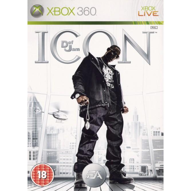 Игра Def Jam: Icon (Xbox 360) б/у