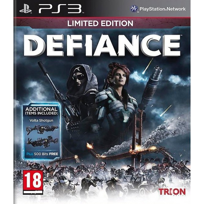 Игра Defiance. Limited Edition (PS3) б/у (eng)