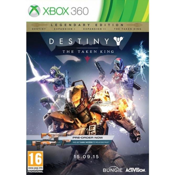 Игра Destiny: The Taken King - Legendary Edition (Xbox 360) б/у