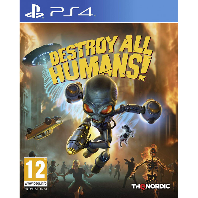 Игра Destroy All Humans! (PS4) (rus sub)