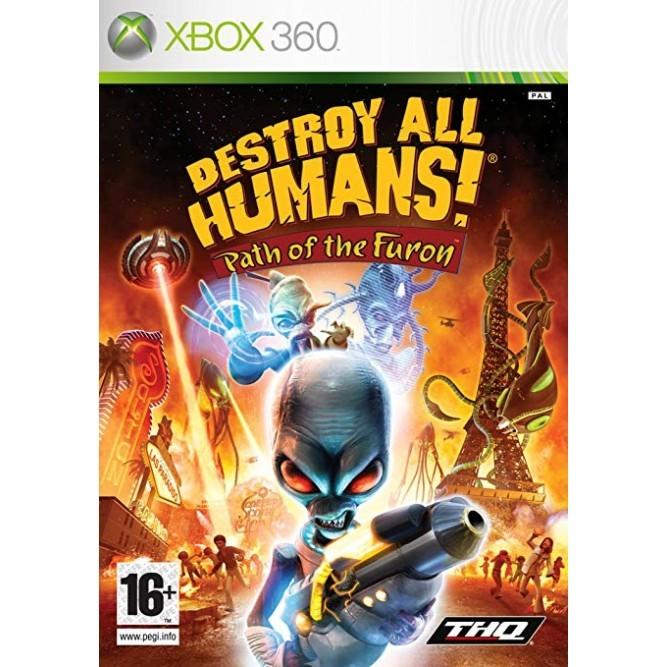 Игра Destroy All Humans! Path of the Furon (Xbox 360) б/у