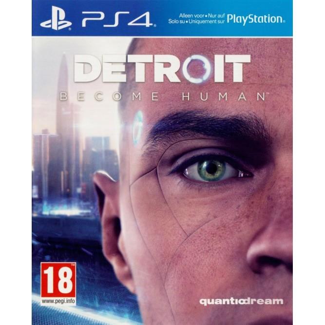 Игра Detroit: Стать человеком (PS4) б/у (eng)