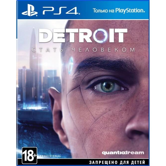Игра Detroit: Стать человеком (PS4) (rus)