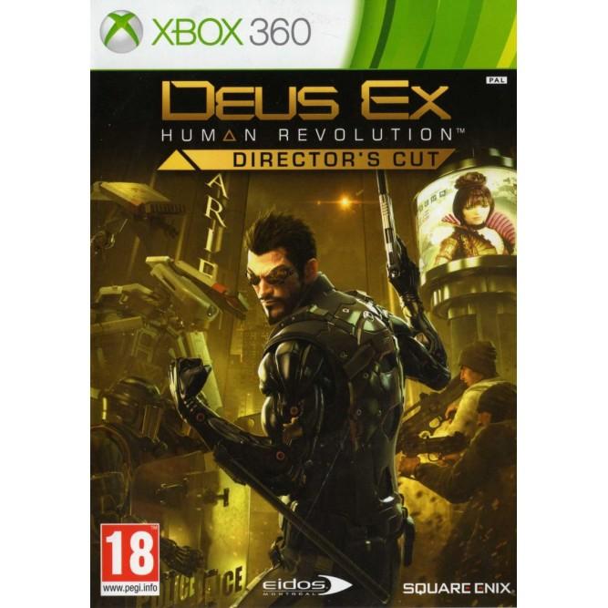 Игра Deus Ex: Human Revolution. Director's Cut (Xbox 360) б/у