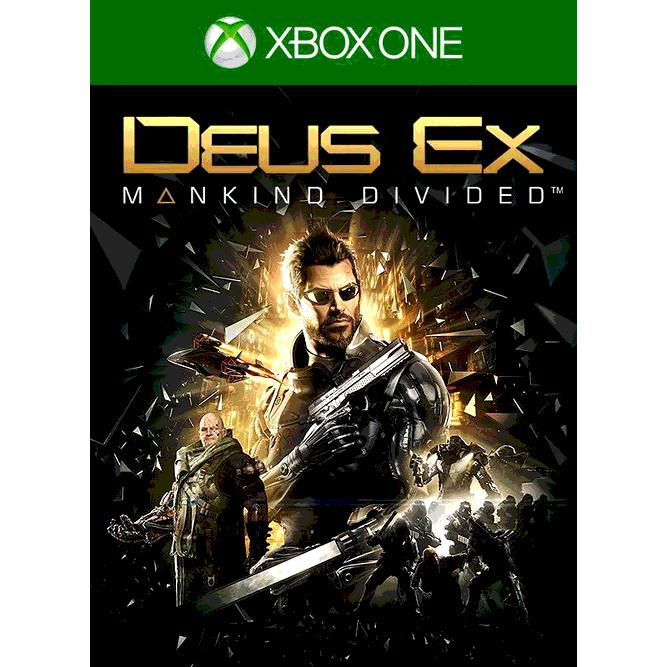 Игра Deus Ex: Mankind Divided (Издание первого дня) (Xbox One) б/у