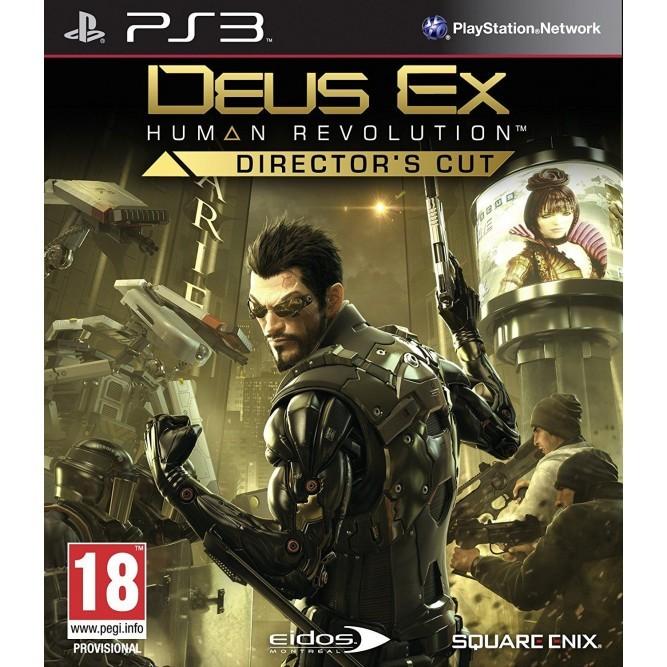 Игра Deus Ex: Human Revolution. Director's Cut (PS3) б/у