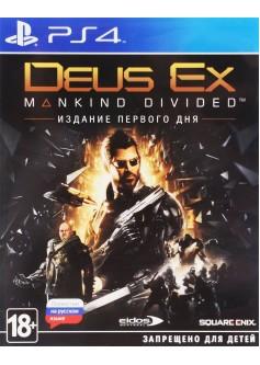 Игра Deus Ex Mankind Divided. Издание первого дня (PS4) (rus)
