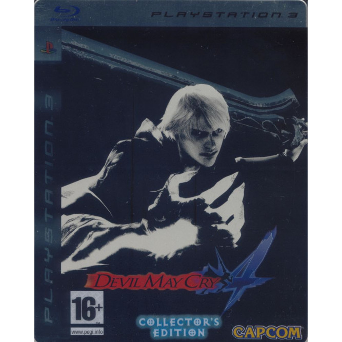 Игрa Devil May Cry 4 Collector's Edition (DMC 4) (PS3) (eng) б/у