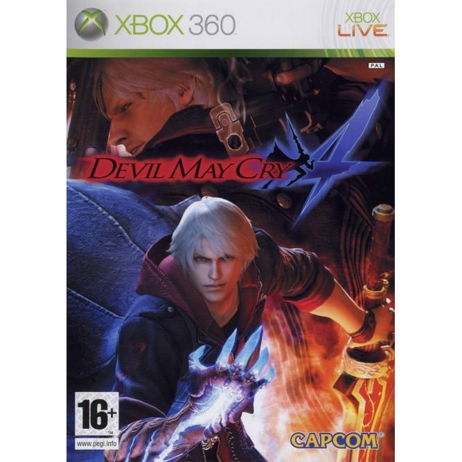 Игра Devil May Cry 4 (Xbox 360) б/у