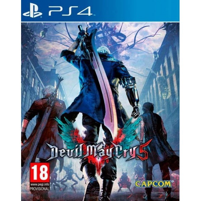 Игра Devil May Cry 5 (PS4) (rus sub) б/у