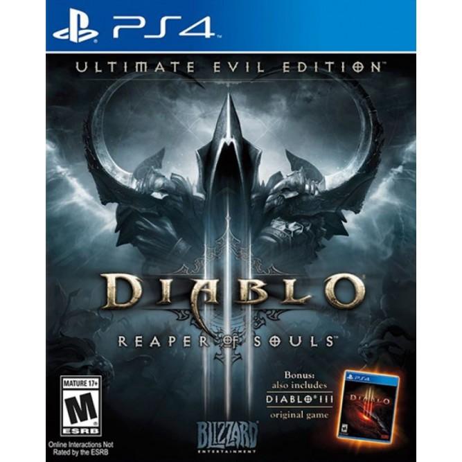Игра Diablo III: Reaper of Souls (PS4) б/у