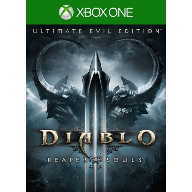 Игра Diablo III Reaper of Souls (Ultimate evil edition) (Xbox One) б/у