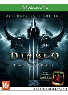 Игра Diablo III: Reaper of Souls (Ultimate Evil Edition) (Xbox One) (rus)