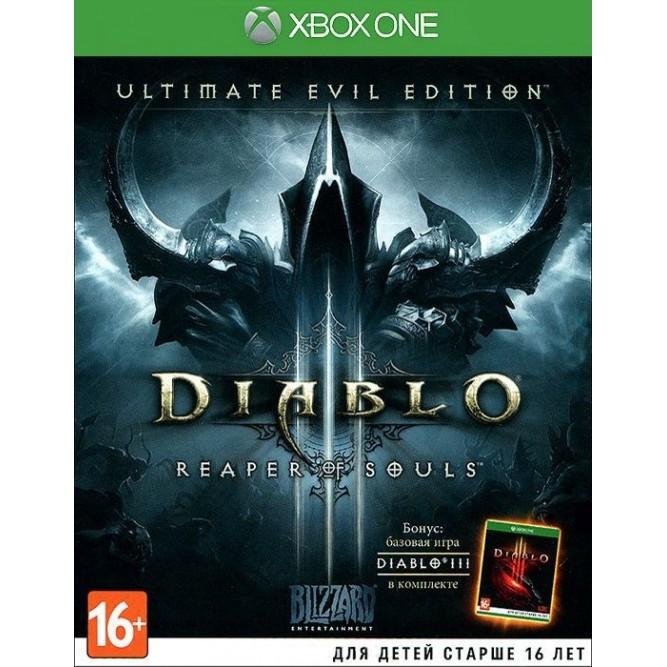 Игра Diablo III: Reaper of Souls - Ultimate Evil Edition (Xbox One) б/у (rus)