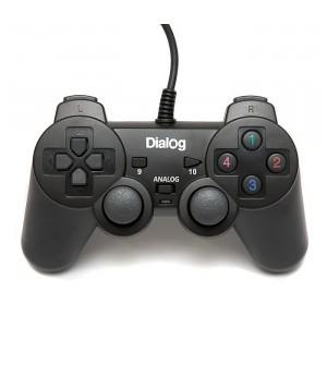 Геймпад Dialog Action GP-A11 (аналог DualShock 3) черный, б/у