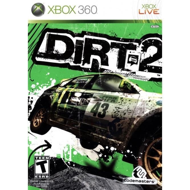 Игра Colin McRae Dirt 2 (Xbox 360) б/у