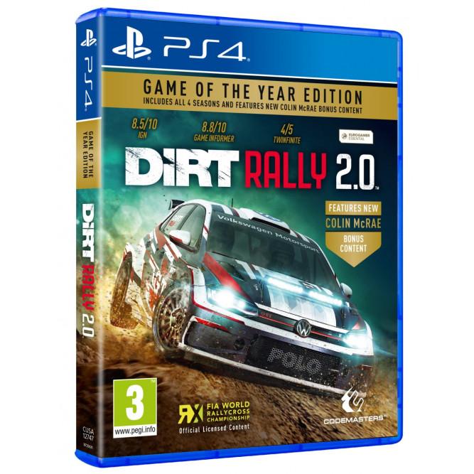 Игра Dirt Rally 2.0 GOTY (PS4) (rus sub)