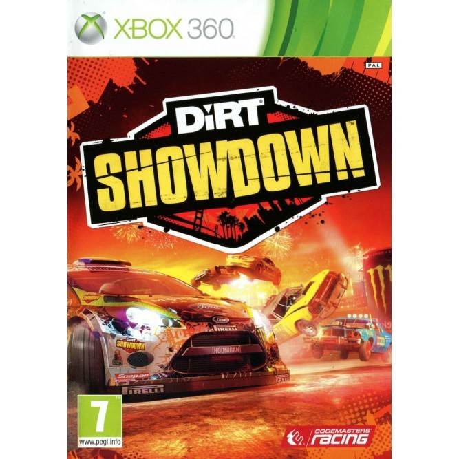 Игра Dirt: Showdown (Xbox 360) б/у