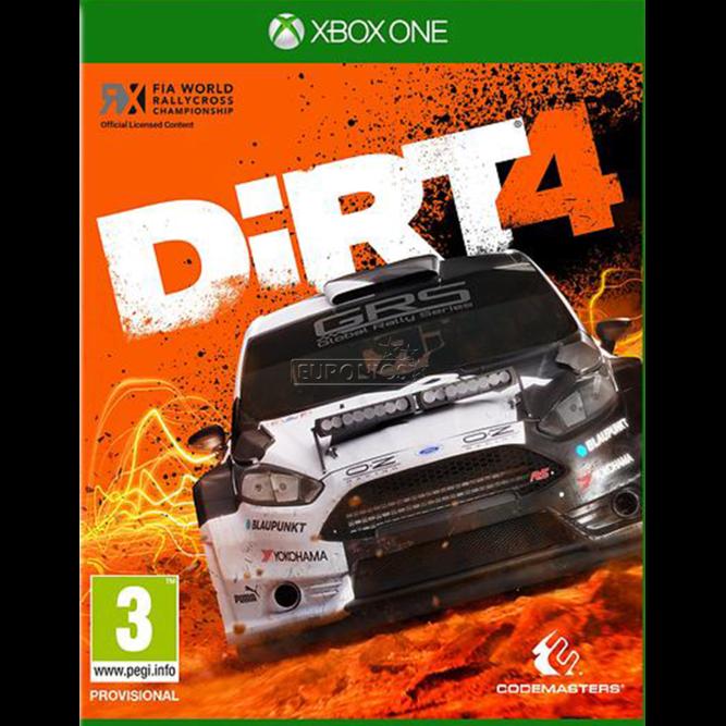 Игра Dirt 4 (Xbox One) б/у