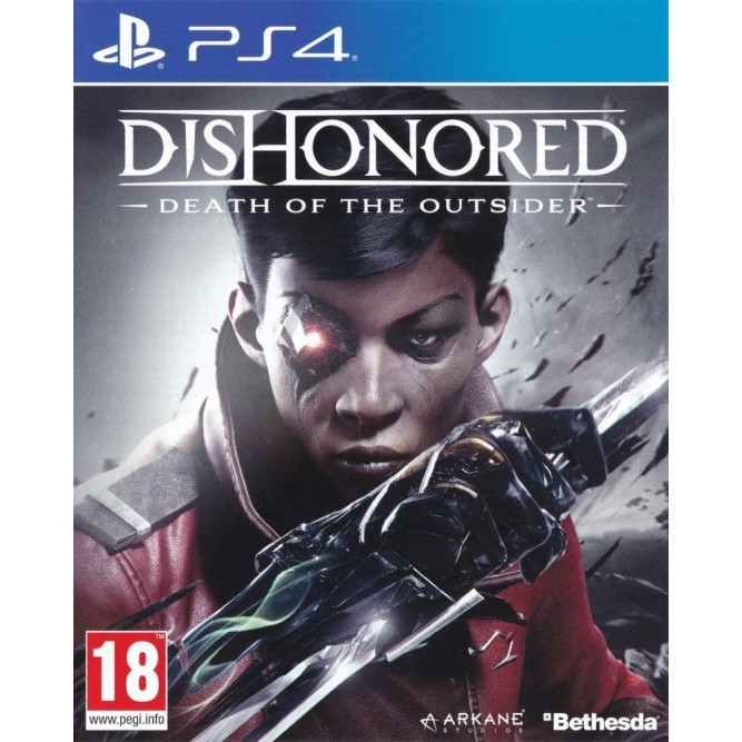 Игра Dishonored: Death of the Outsider (PS4) (rus) б/у