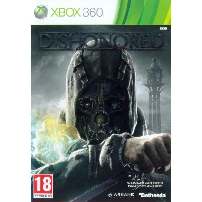 Игра Dishonored (Xbox 360) б/у