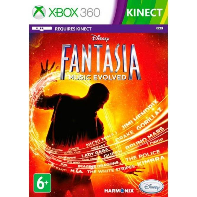 Игра Disney Фантазия: Магия Музыки (Только для Kinect) (Xbox 360) б/у (eng)