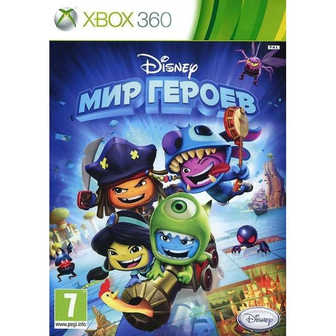 Игра Disney: Мир героев (Xbox 360) б/у (rus)