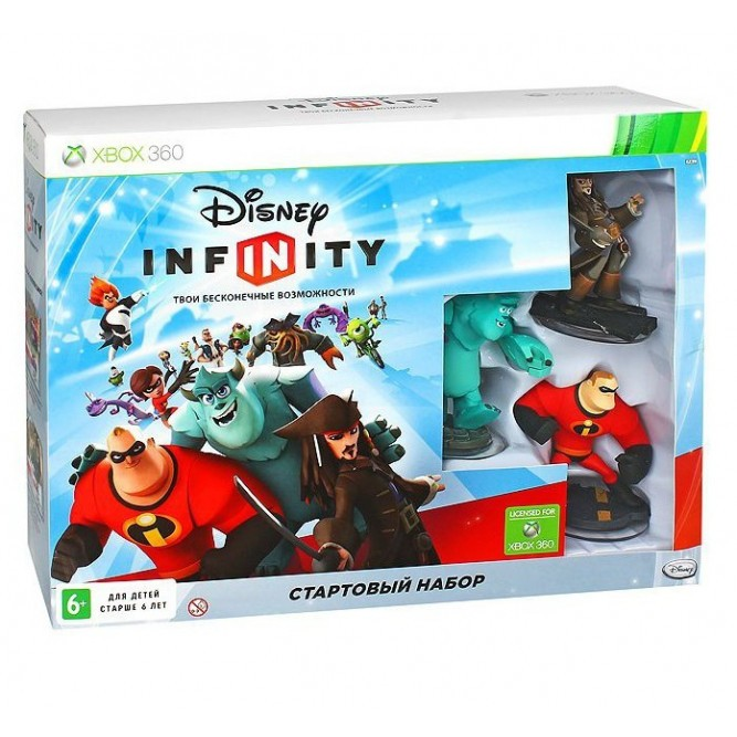 Игра Disney Infinity. Cтартовый набор (Xbox 360) б/у (rus)