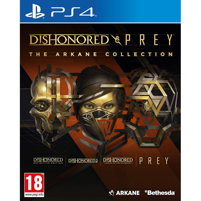 Игра Dishonored & Prey - The Arkane Collection (PS4) (eng)