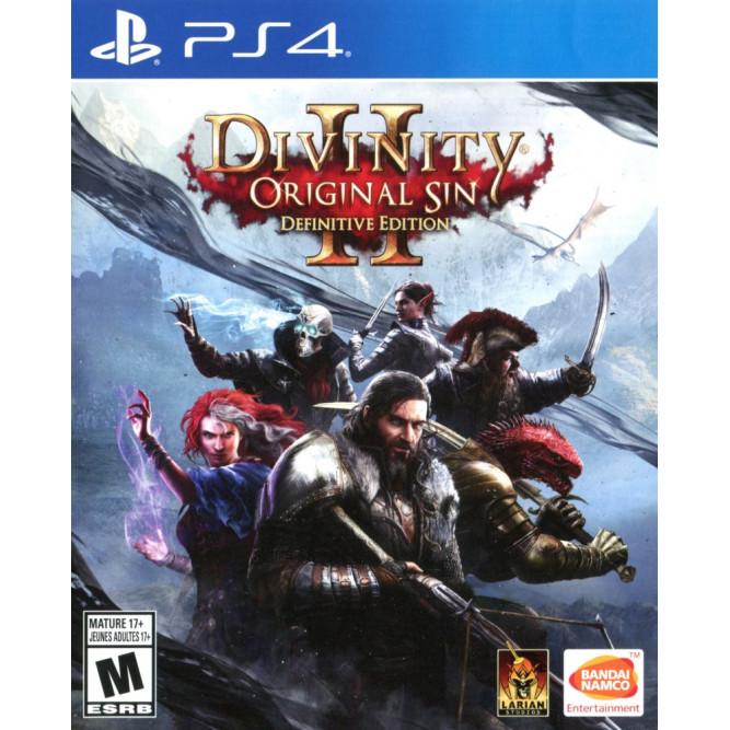 Игра Divinity: Original Sin 2 - Definitive Edition (PS4) (rus) б/у