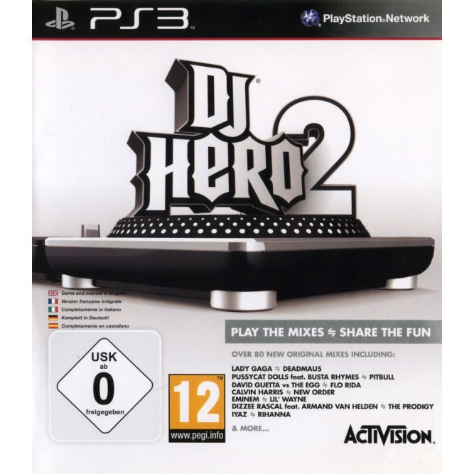Игра DJ Hero 2 (PS3) б/у (eng)