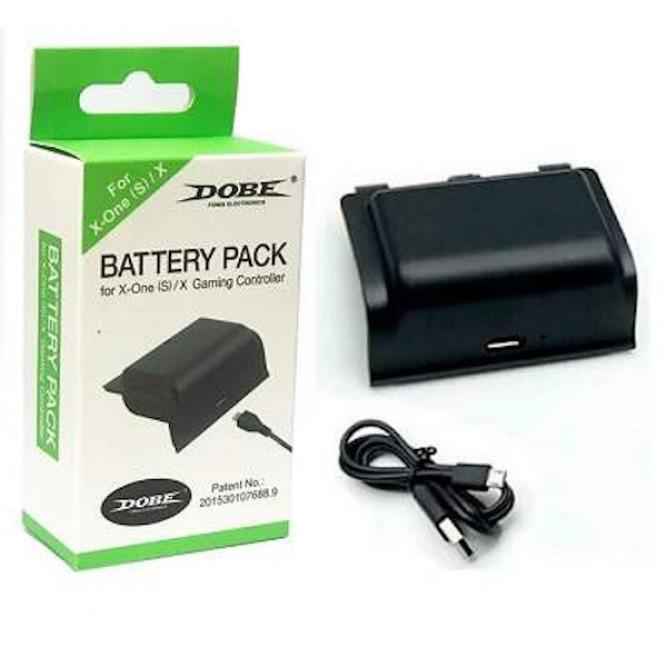 Аккумулятор для контроллера Dobe Xbox One S Battery Pack (400mAH), черный