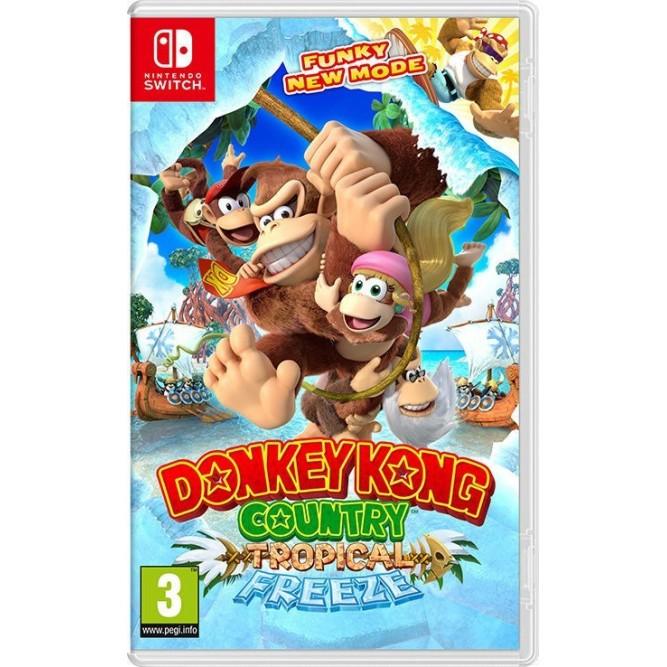 Игра Donkey Kong Country: Tropical Freeze (Nintendo Switch) б/у