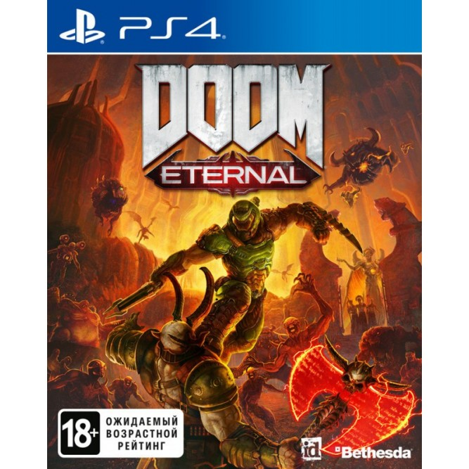 Игра Doom Eternal (PS4) (rus)
