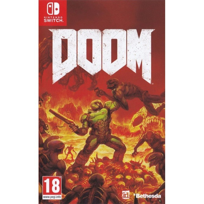 Игра Doom (Nintendo Switch) б/у