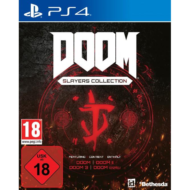Игра DOOM - Slayers Collection (PS4) (rus)