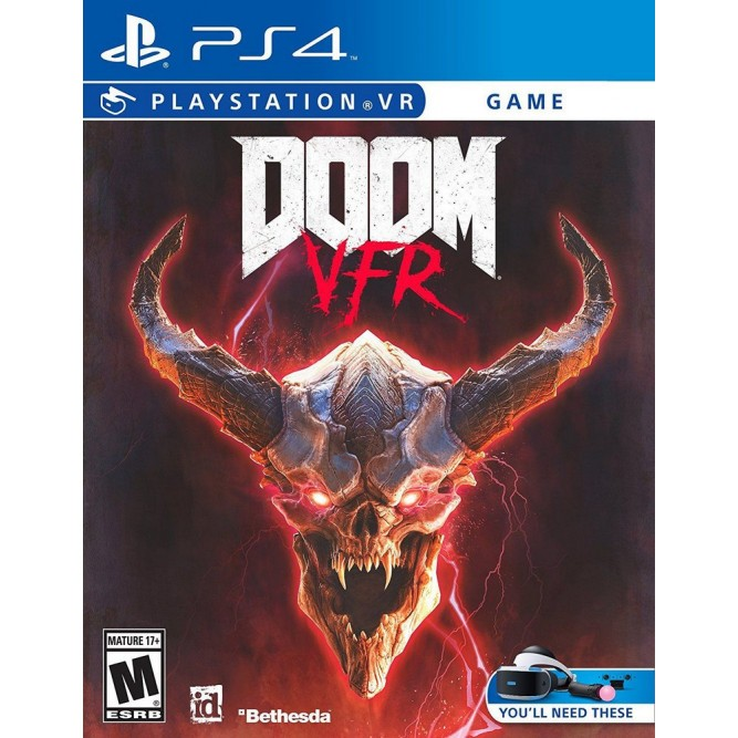 Игра Doom VFR (только для PS VR) (PS4) (rus) б/у