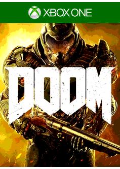Игра Doom (Xbox One) б/у