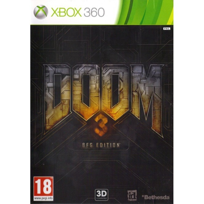 Игра Doom 3: BFG Edition (Xbox 360) б/у