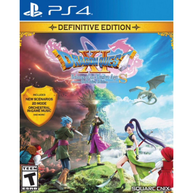 Игра Dragon Quest XI S: Echoes of an Elusive Age - Definitive Edition (PS4) (eng)