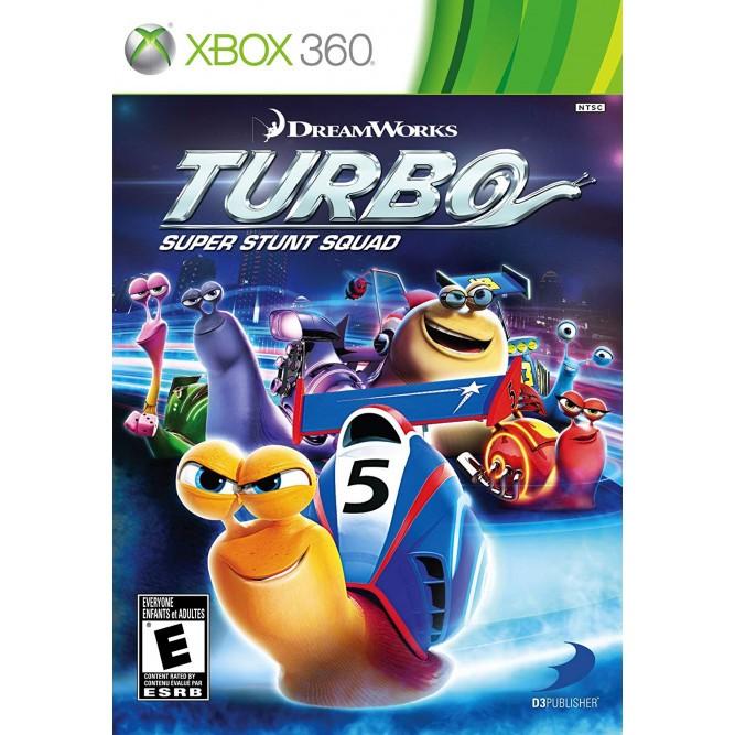 Игра DreamWorks Turbo: Super Stunt Squad (Xbox 360) б/у (eng)