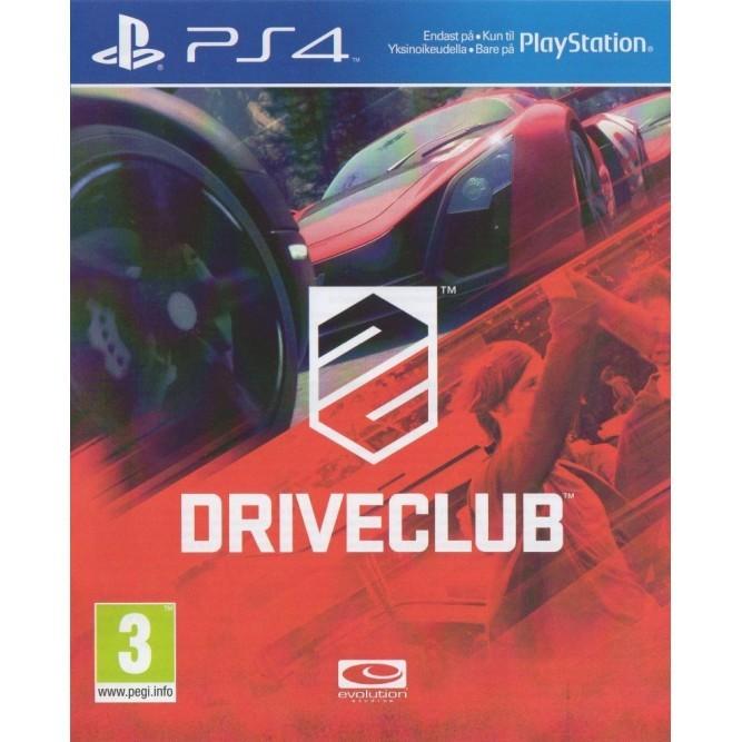 Игра DriveClub (PS4) б/у
