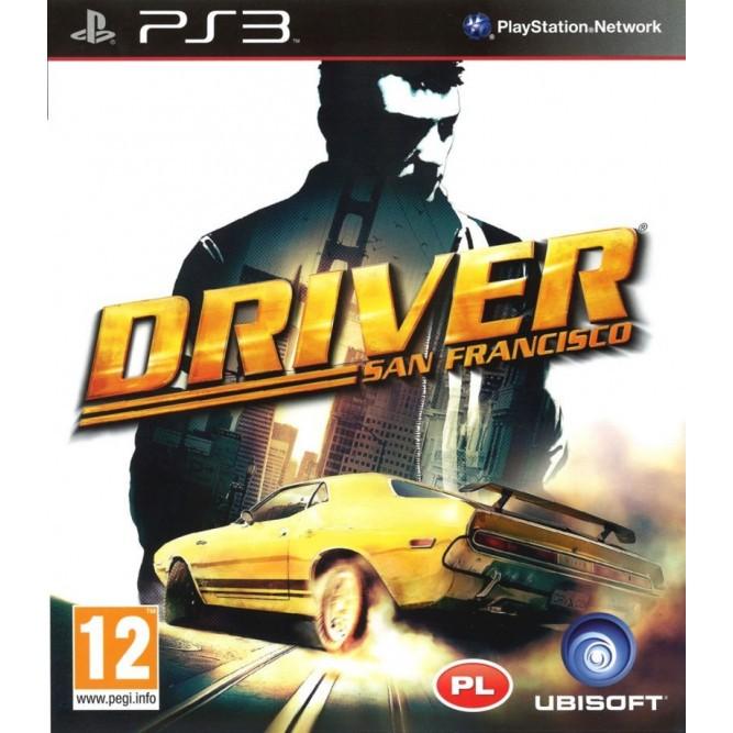 Игра Driver: San Francisco (PS3) (eng)