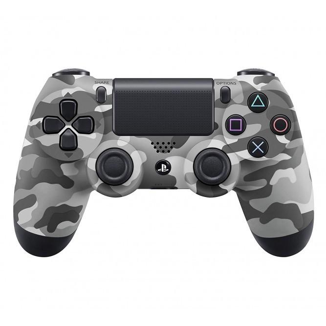 Геймпад Sony Dualshock 4 (PS4) V2 (Белый камуфляж) б/у